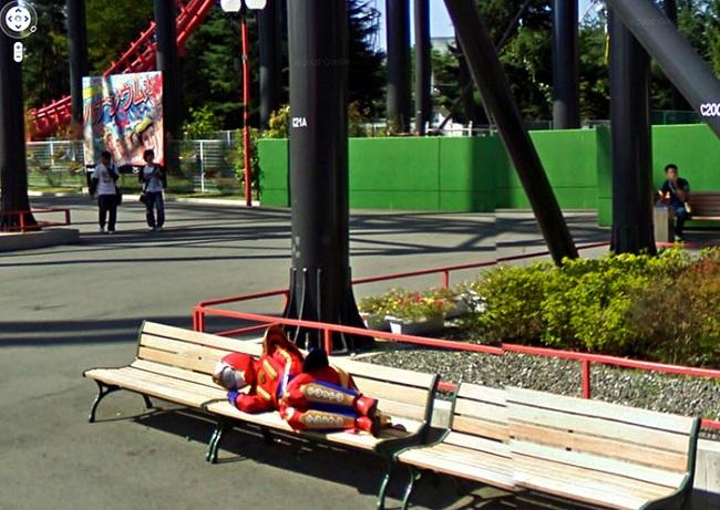Images insolites et drôles sur Google Street View