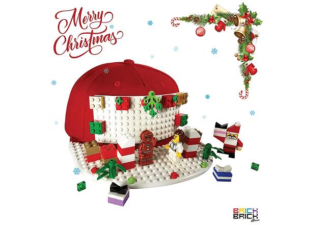 cadeau Noël casquette Lego