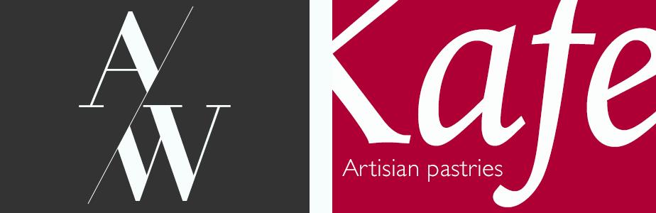 Logos de A/W et Kafe