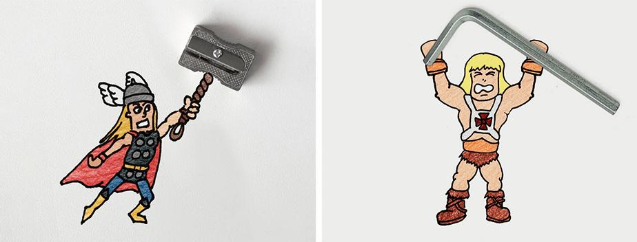 Hero Doodles - Denny Kurien