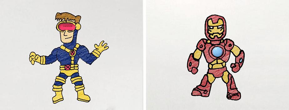 Hero-Doodles - Denny Kurien