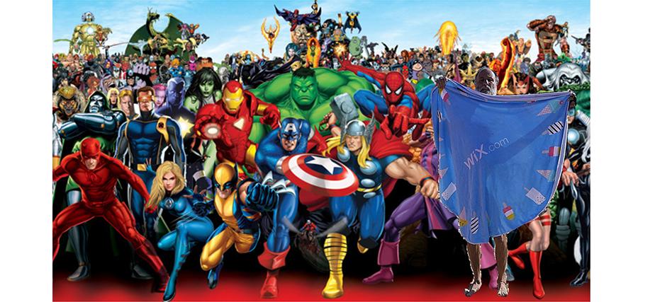 Opher et Marvel