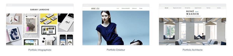 Templates portfolio et CV