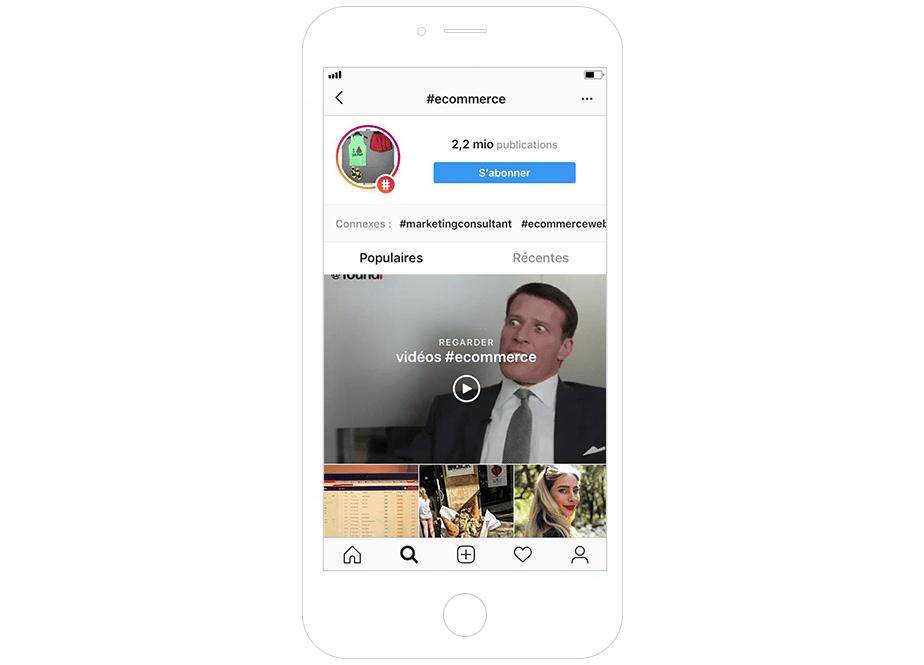 eCommerce Instagram