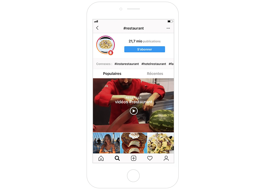 Restaurant Instagram