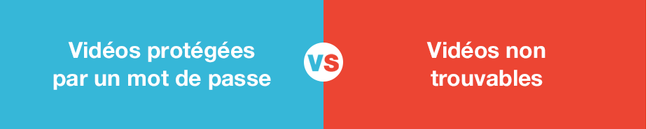 Confidentialité Vimeo vs YouTube